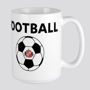 Sunderland Soccer Ball 15 oz Ceramic Large Mug